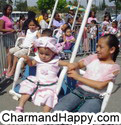 CharmandHappy com swings amusement carnival rides games whittier los angeles SoCal