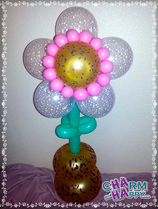 balloon art animall flower delivey los angeles socal charmandhappy 562-237-3327