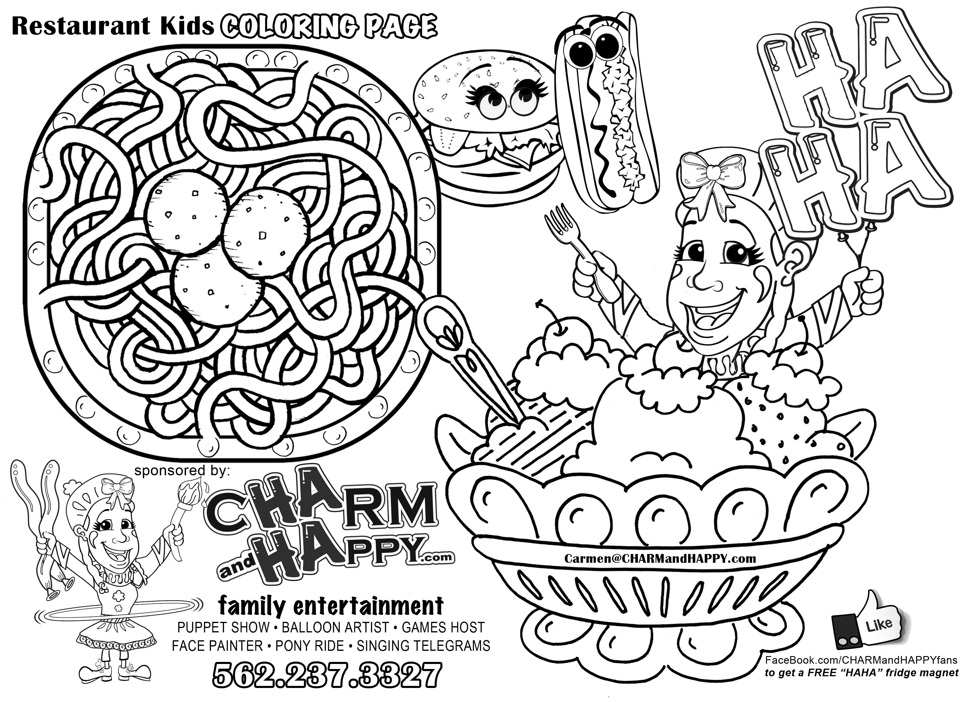 Coloring Pages For Restaurants : Coloring pages for restaurants restaurant colouring