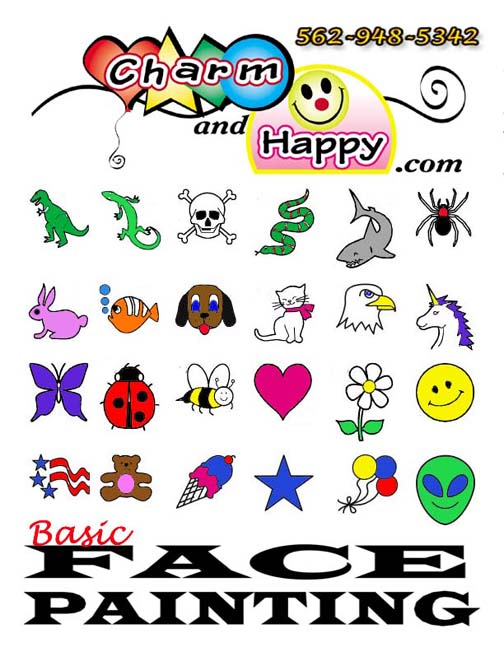 CharmandHappy www.aFacePainter.com by Carmen Tellez face ...