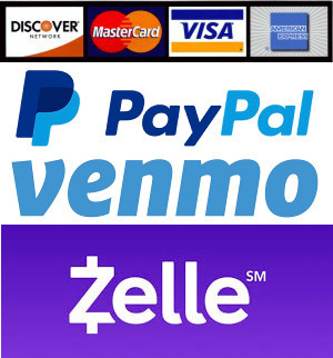 Payment methods accepted as Reservation Fee (towards Total)