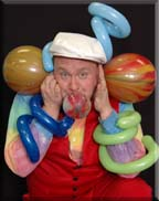 Carl Woody - Sipsonville, SC 29680 - Animal Balloon art twister as a restaurant entertainer