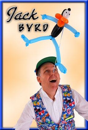 Jack Byrd Kids Night in Austin Texas with Animal Balloon Twist Art for birthday pary entertainment and company events