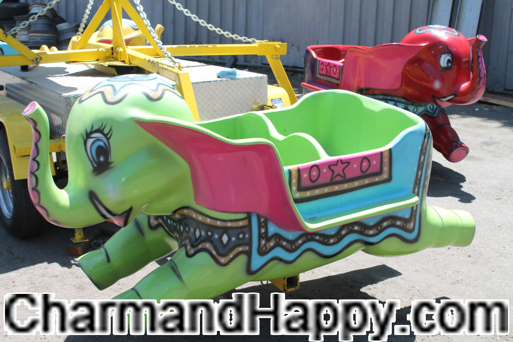 CharmandHappy com elephant amusement carnival rides games whittier los angeles SoCal