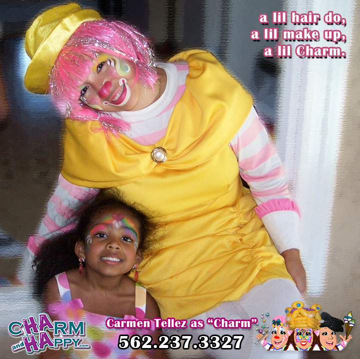 charmandhappy.com birthday clown whittier los angeles socal la mirada placentia long beach pico rivera cerritos