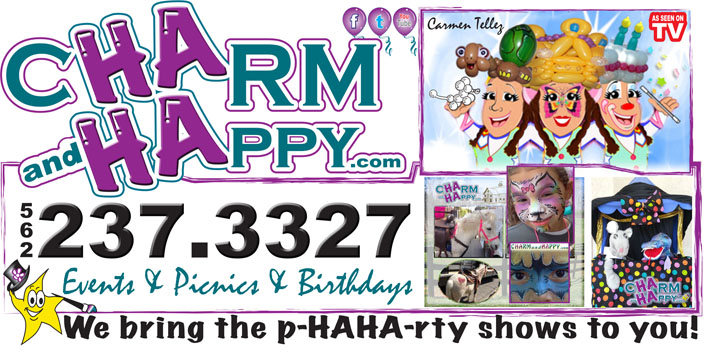 charmandhappy face painter balloon artist los angeles socal singing telegrams sumo wrestlings clown