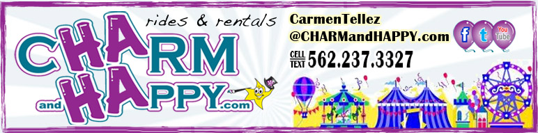 CharmandHappy com amusement carnival rides games whittier los angeles SoCal