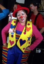 Charm the clown in New York