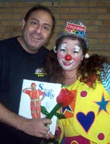 Charm invited Silly Billy - David Kaye Magic Clown to New York Goofs show