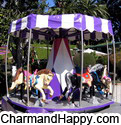 CharmandHappy com merry go round amusement carnival rides games whittier los angeles SoCal