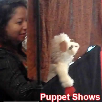 preschool kinder puppet show entertainment charmandhappy.com socal chino redlands ca