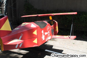 CharmandHappy com airplane amusement carnival rides games whittier los angeles SoCal