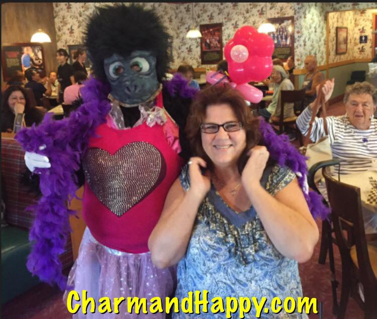 singing telegram socal 562-237-3327 pollys pies hemet CharmandHappy.com