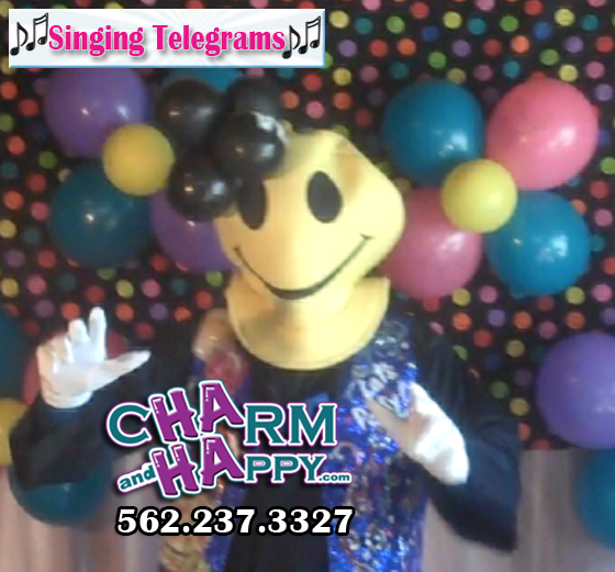 singing telegram emoji menifee los angeles hollywood whittier
