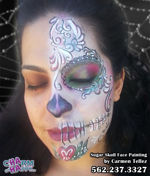 face painting comments for Carmen Tellez CharmandHappy.com Whittier