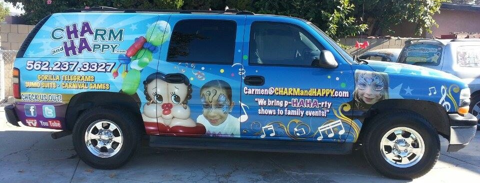 haha-truck-charmandhappy face painter balloon artist socal los angeles