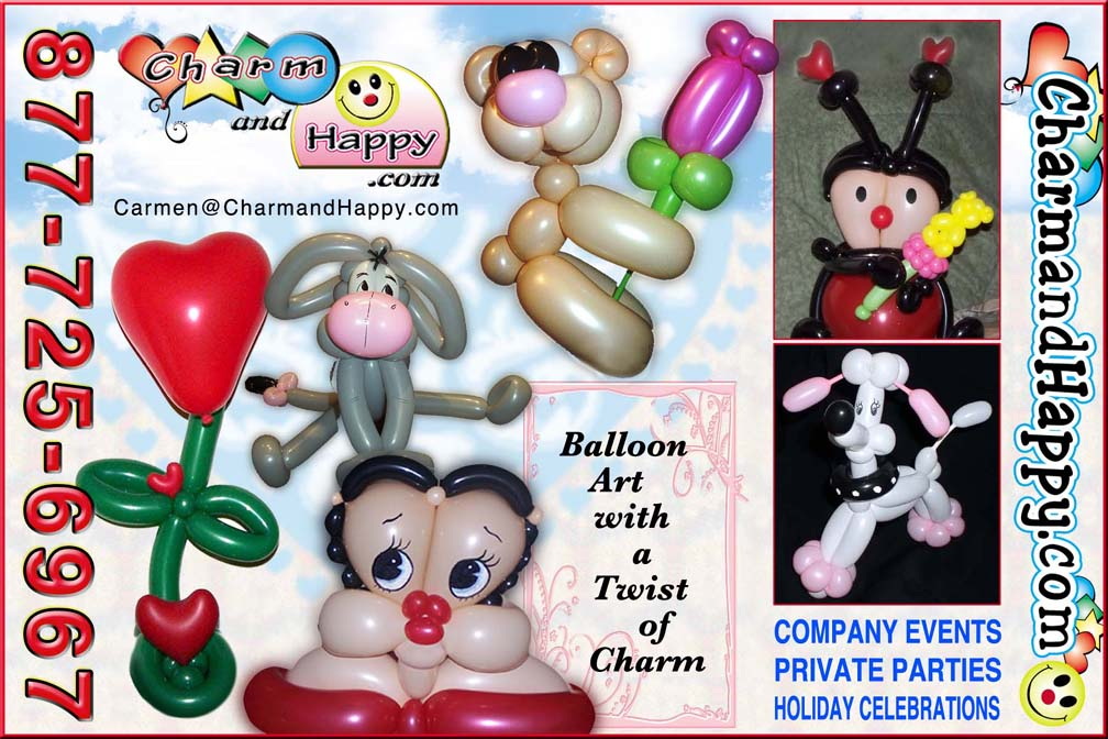valentines balloon art sculpture deslivery los angeles socal